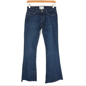 Current Elliott Low Bell Flare Jeans *ALTERED*